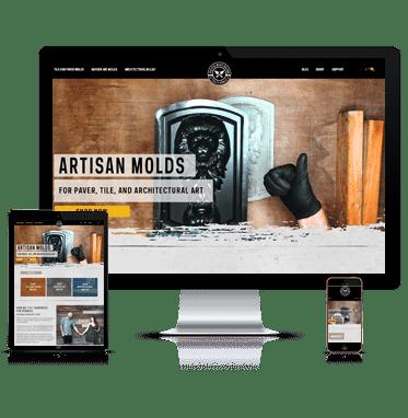 Pacific Mold design by San Diego web design company