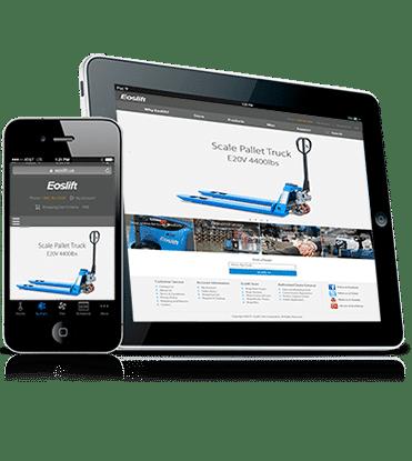 Inspiring website design and web development for Eoslift